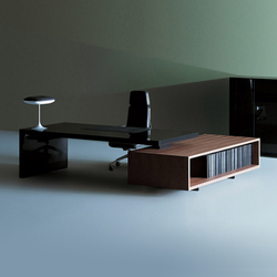 Asymmetrical | Executive desks | Tecno