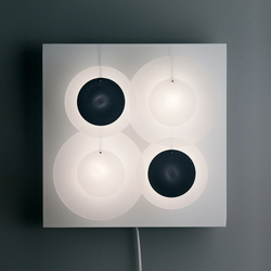 Illico 4 I424 wall lamp | Wall lights | Dix Heures Dix