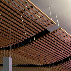 Wood Grid Ceiling Ceiling Panels From Hunter Douglas