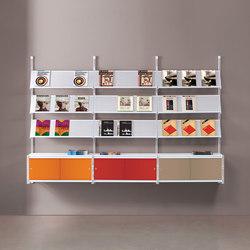 Socrate Parete | Systèmes d'étagères | Caimi Brevetti