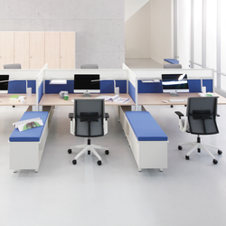 Kiron | Systèmes de tables de bureau | Haworth
