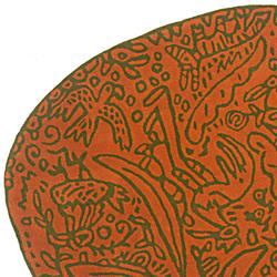 Bichos y flores Orange | Tappeti / Tappeti d'autore | Nanimarquina