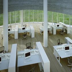 T_up desk system | Desks | Haworth