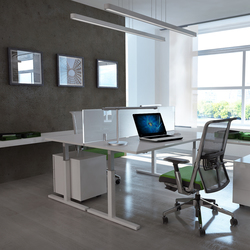 T_up desk system | Desks | Haworth