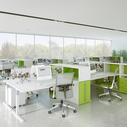 T_up desk system | Desking systems | Haworth