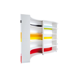 Twist | Shelving systems | ULTOM ITALIA
