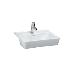 LAUFEN Pro A | Semi-recessed washbasin | Wash basins | Laufen