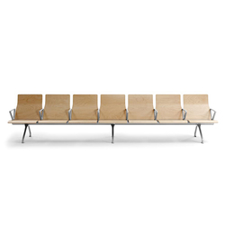 Avant Wood | Waiting area benches | actiu