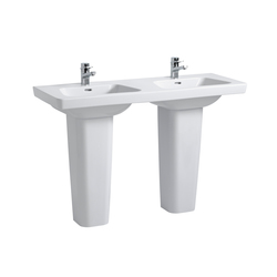 Modernaplus | Lavabo double à poser sur meuble | Lavabos | Laufen