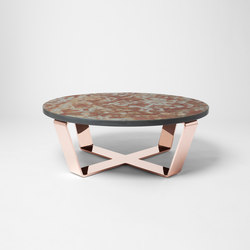 Slate Table Copper Brasil | Salontisch