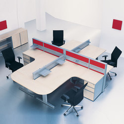 Duo | Systèmes de tables de bureau | ERSA