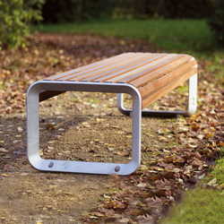 portiqoa Parkbank | Exterior benches | mmcité