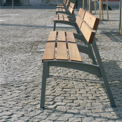 vera Parkbank | Außenbänke | mmcité