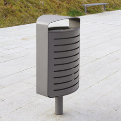 lena | Litter bin with cover | Exterior bins | mmcité