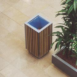diagonal | Litter bin | Exterior bins | mmcité