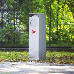 crystal | Special litter bin for dog excrements | Cestini spazzatura | mmcité