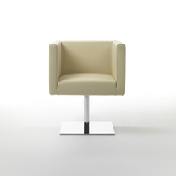 Ascot Mini Armchair | Visitors chairs / Side chairs | Giulio Marelli