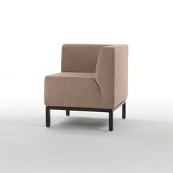 Ascot Comp Armchair | Modular seating elements | Giulio Marelli