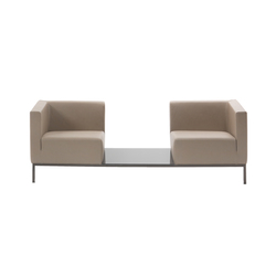 Ascot Comp Canapé | Éléments de sièges modulables | Giulio Marelli