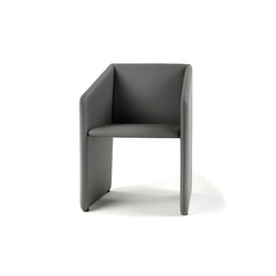 Box Armchair | Visitors chairs / Side chairs | Giulio Marelli