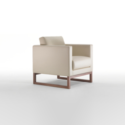 Cubic Wood Armchair | Sillones lounge | Giulio Marelli