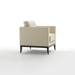 Cubic Wood Armchair | Lounge chairs | Giulio Marelli