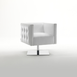 Prestige Swivel Armchair | Lounge chairs | Giulio Marelli