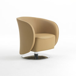 Well Swivel Armchair | Lounge chairs | Giulio Marelli