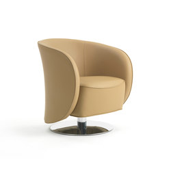 Well Swivel Armchair | Sillones lounge | Marelli