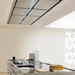 Extraction Systems | Ceiling-mounted extraction unit | Kitchen hoods | Arclinea