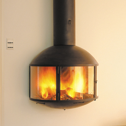 Édofocus 850 wall | Wood burning stoves | Focus