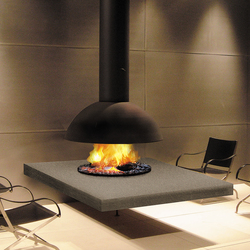 Mezzofocus hotte | Gas fireplaces | Focus