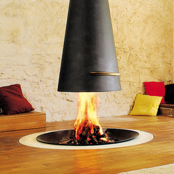 Filiofocus telescopic  2000 | Wood fireplaces | Focus