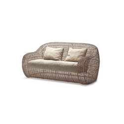 Balou Easy Loveseat | Garden sofas | Kenneth Cobonpue