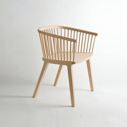 Secreto Little Armchair | Restaurant chairs | Colé