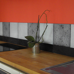 Kitchen Nantes (France) | Natural stone wall tiles | Ulrike Weiss