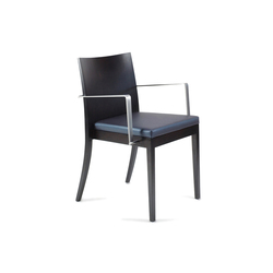 Ecoes Chair with armrests | Visitors chairs / Side chairs | Tekhne