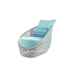 Oasis Lounge Chair | Garden armchairs | Kenneth Cobonpue