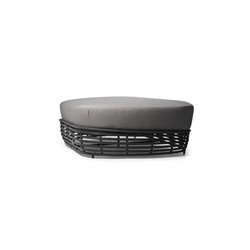 Oasis Loveseat Ottoman |  | Kenneth Cobonpue