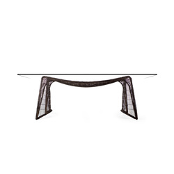 Pigalle Dining Table rectangular | Restaurant tables | Kenneth Cobonpue