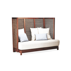 Suzy Wong Loveseat High Back | Sofás lounge | Kenneth Cobonpue