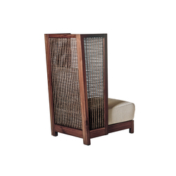 Suzy Wong Easy Armchair High Back | Poltrone lounge | Kenneth Cobonpue
