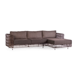 Yin & Yang L-Sofa | Garden sofas | Kenneth Cobonpue