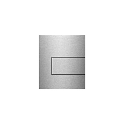 TECEsquare stainless steel Urinal flush button | Robinetterie de WC | TECE