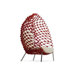 Dragnet Lounge Armchair | Poltrone | Kenneth Cobonpue
