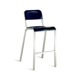 Counter Stools With Base In Aluminum High Quality