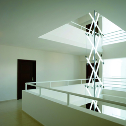 Light Structure T3 stairhouse installation | Suspended lights | Archxx