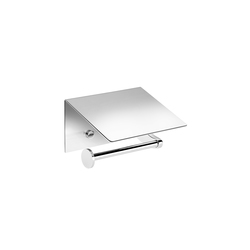 Kubic Cool Left Paper Holder With Cover | Portarotolo | pom d'or
