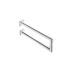 Kubic Class double lateral towel bar | Porta asciugamani | Pom d'Or