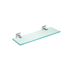 Kubic Class glass shelf | Shelves | pomd'or